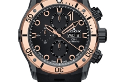 THE NEW EDOX CO-1 CARBON CHRONOGRAPH AUTOMATIC
