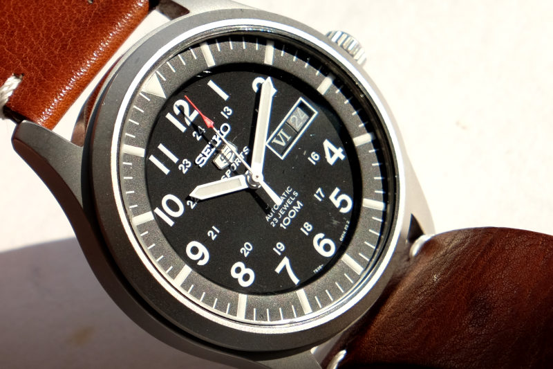 close up of the date on the SNZG15