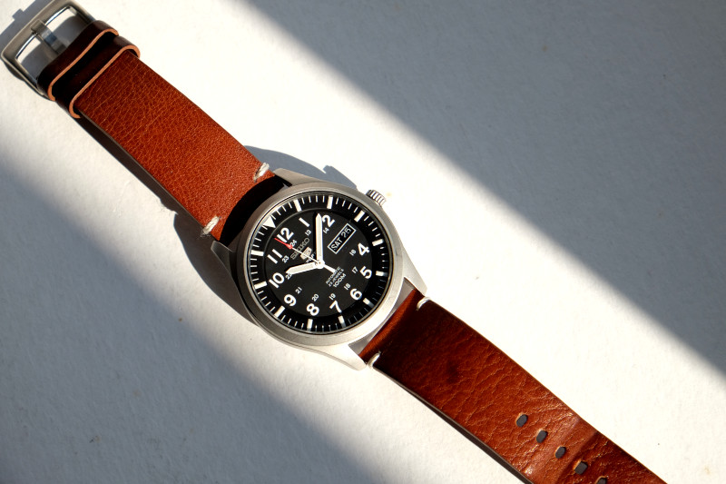 Seiko snzg15 leather strap