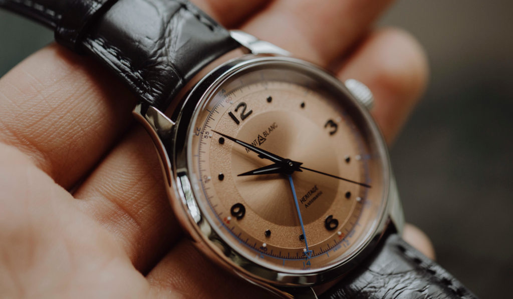 First Look: Montblanc Heritage GMT