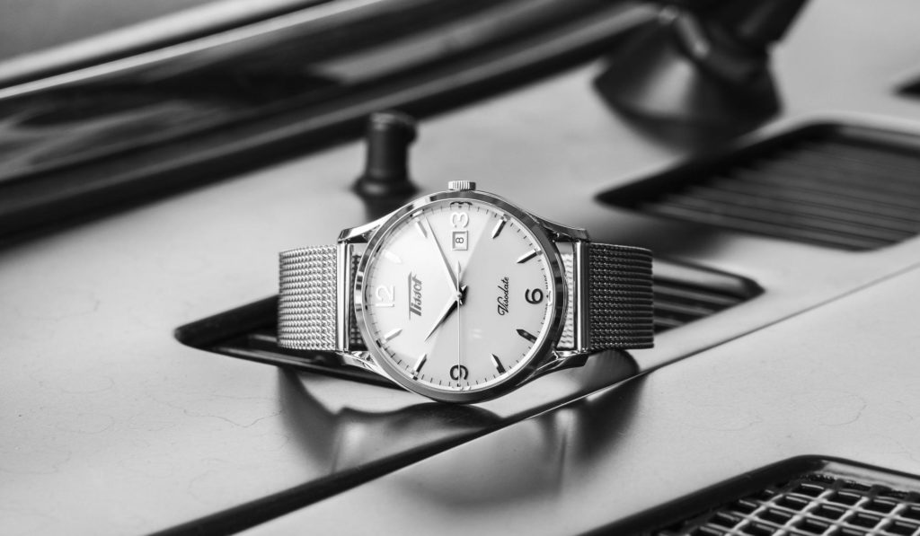 First Look: Tissot Heritage Visodate Quartz