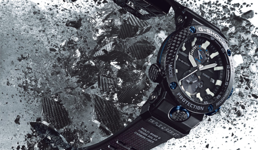 Exploring the carbon cores of the Casio G-Shock GWR-B1000 and GA-2000