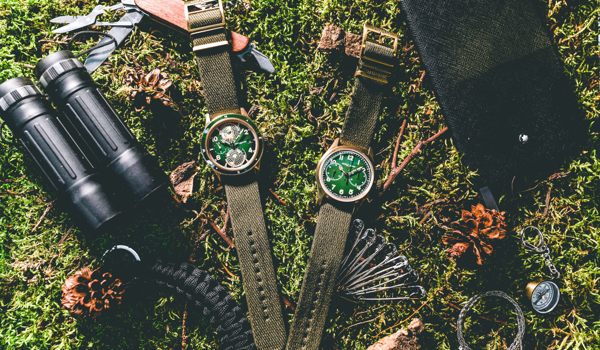 Montblanc's latest 1858 Collection 'goes green'