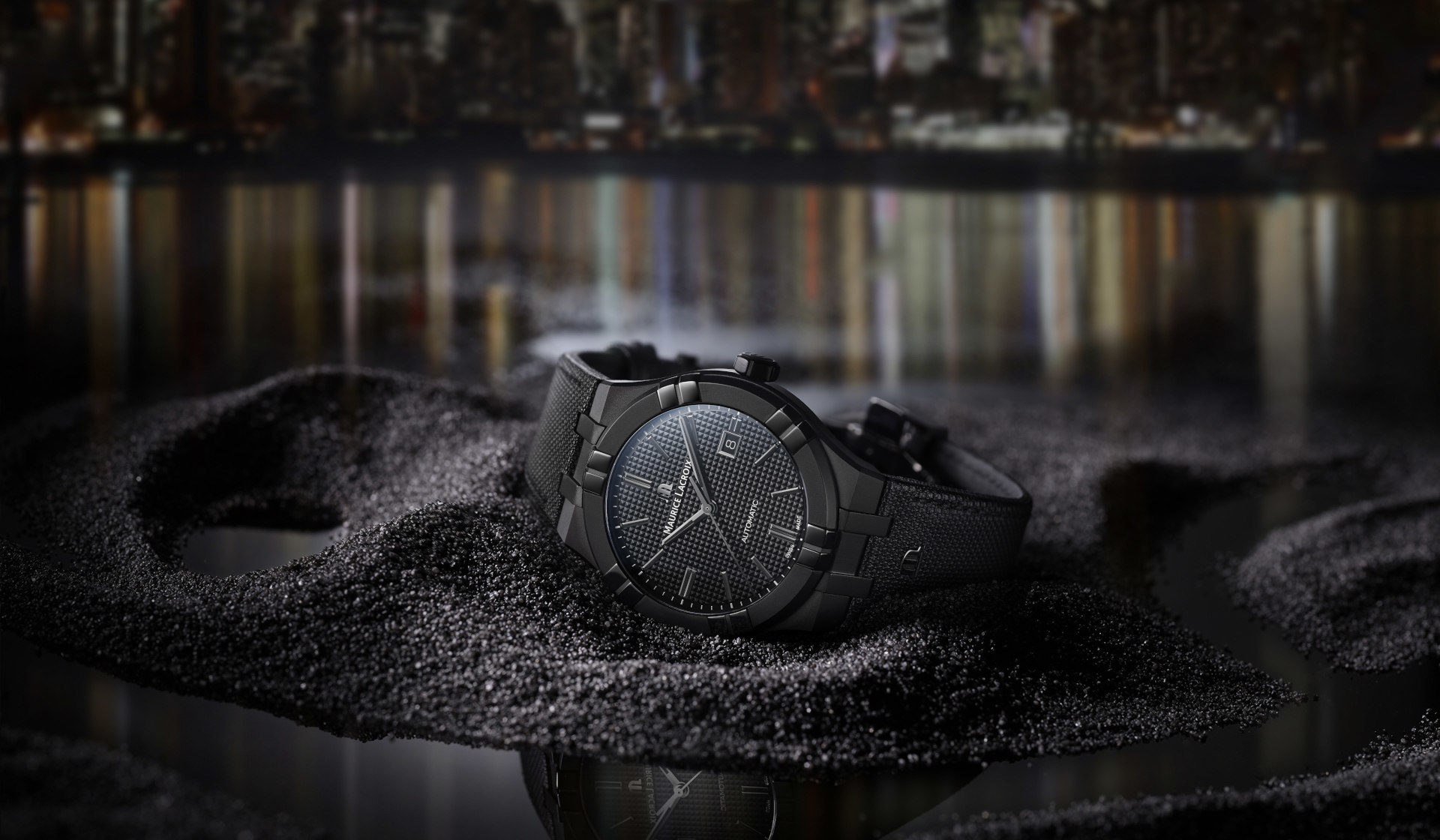 Exploring the dark with the Maurice Lacroix Aikon Automatic Black
