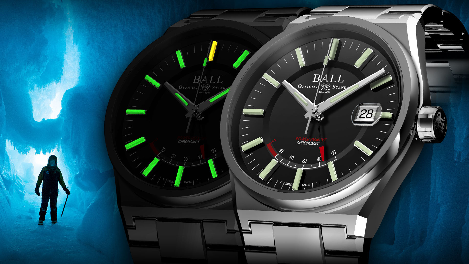 The Ball Roadmaster Icebreaker is the epitome of what a tool watch is supposed to be