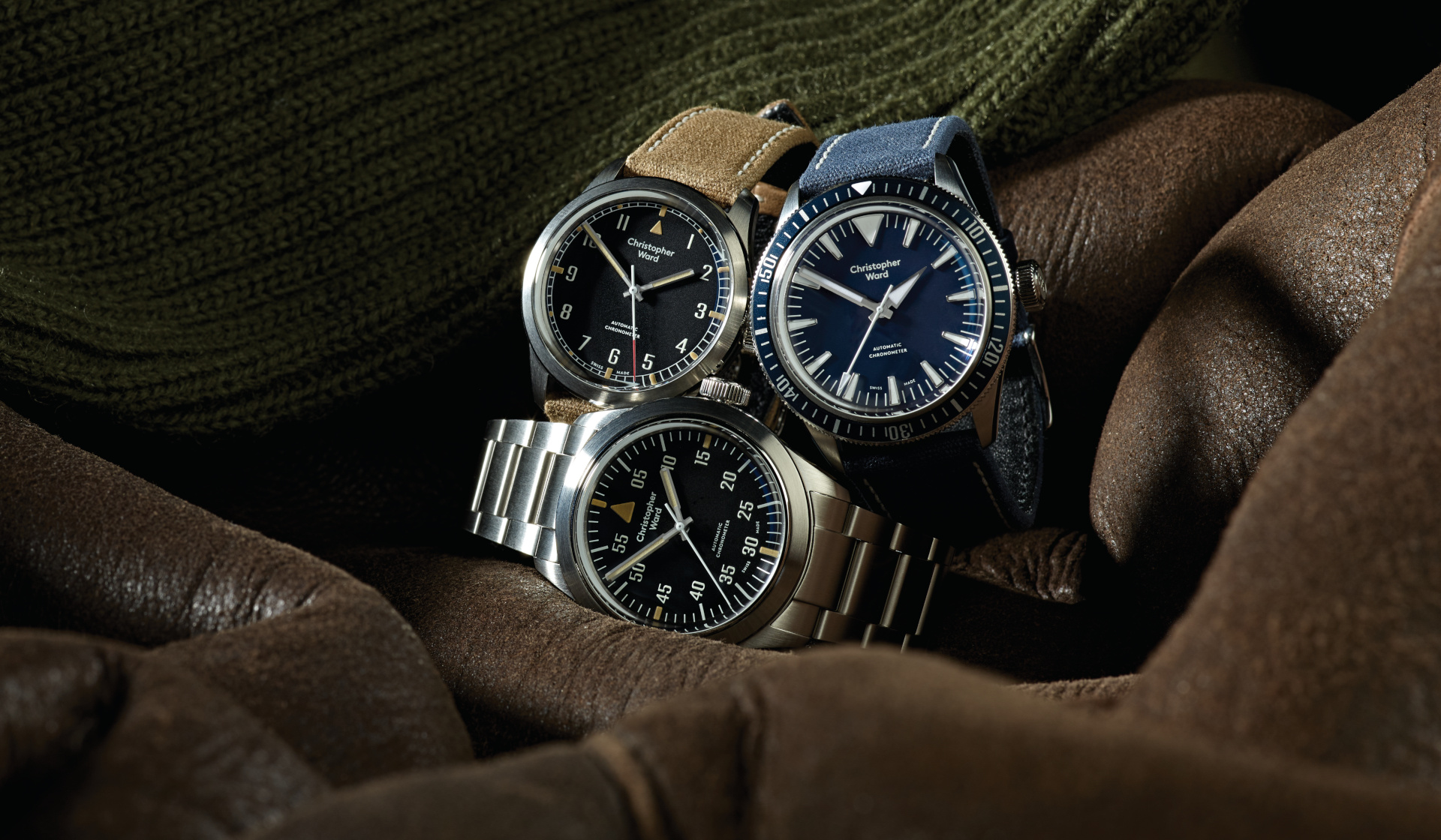 Standing at Attention with Christopher Ward's Military Collection