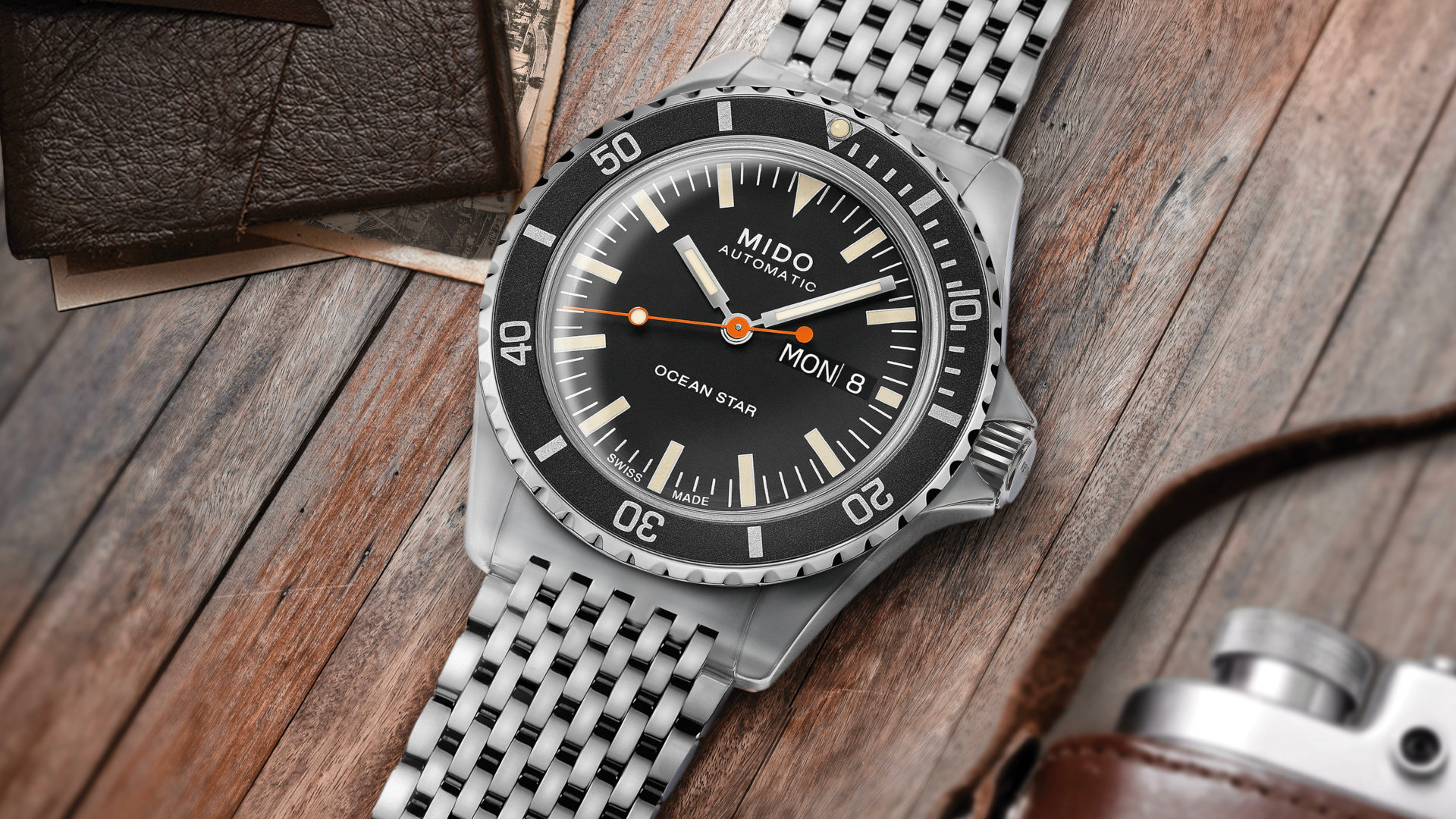 Mido Ocean Star Tribute: A stellar 1960s inspired dive watch