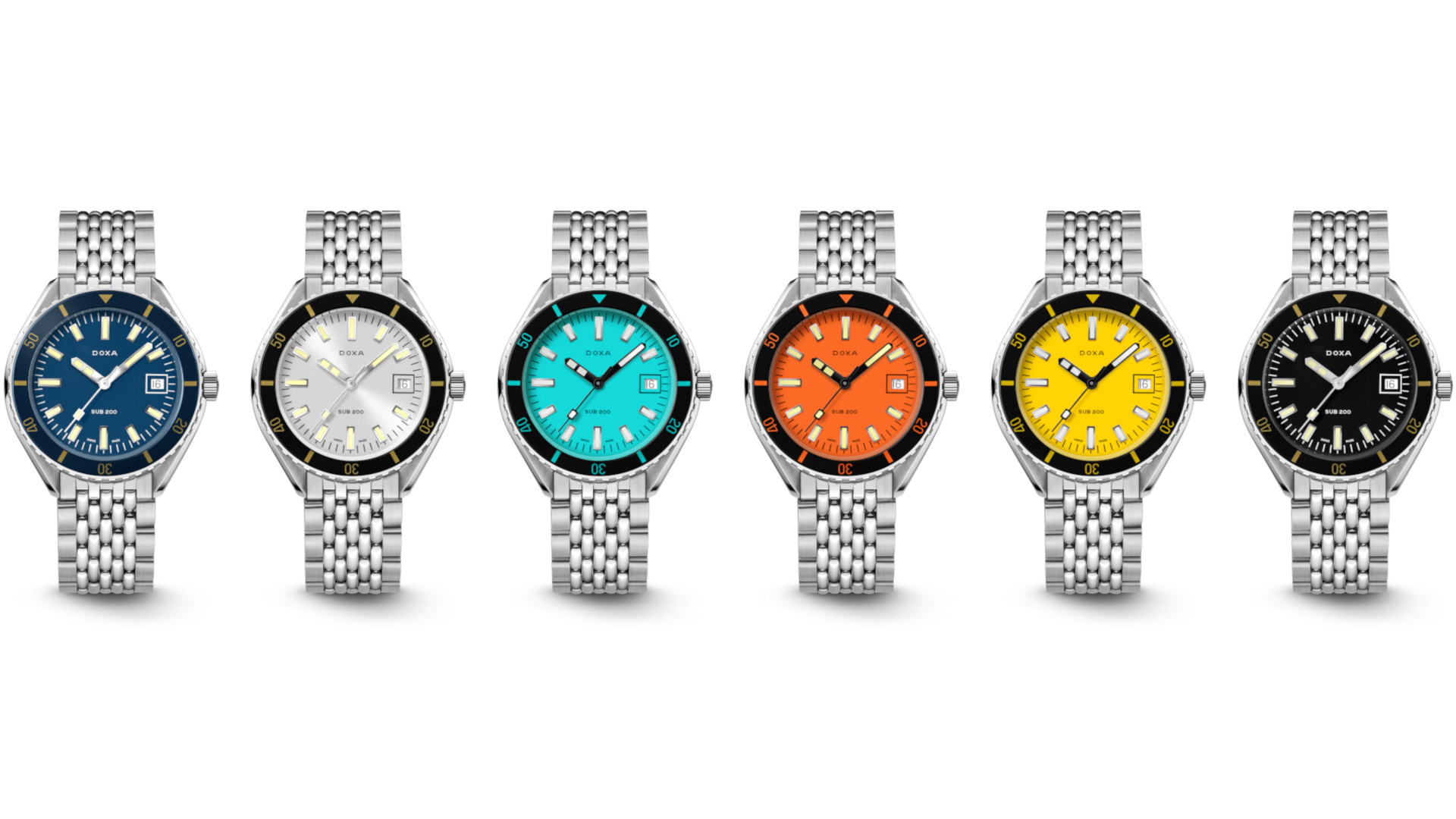 Doxa unveils a more casual dive watch with their Sub 200 collection