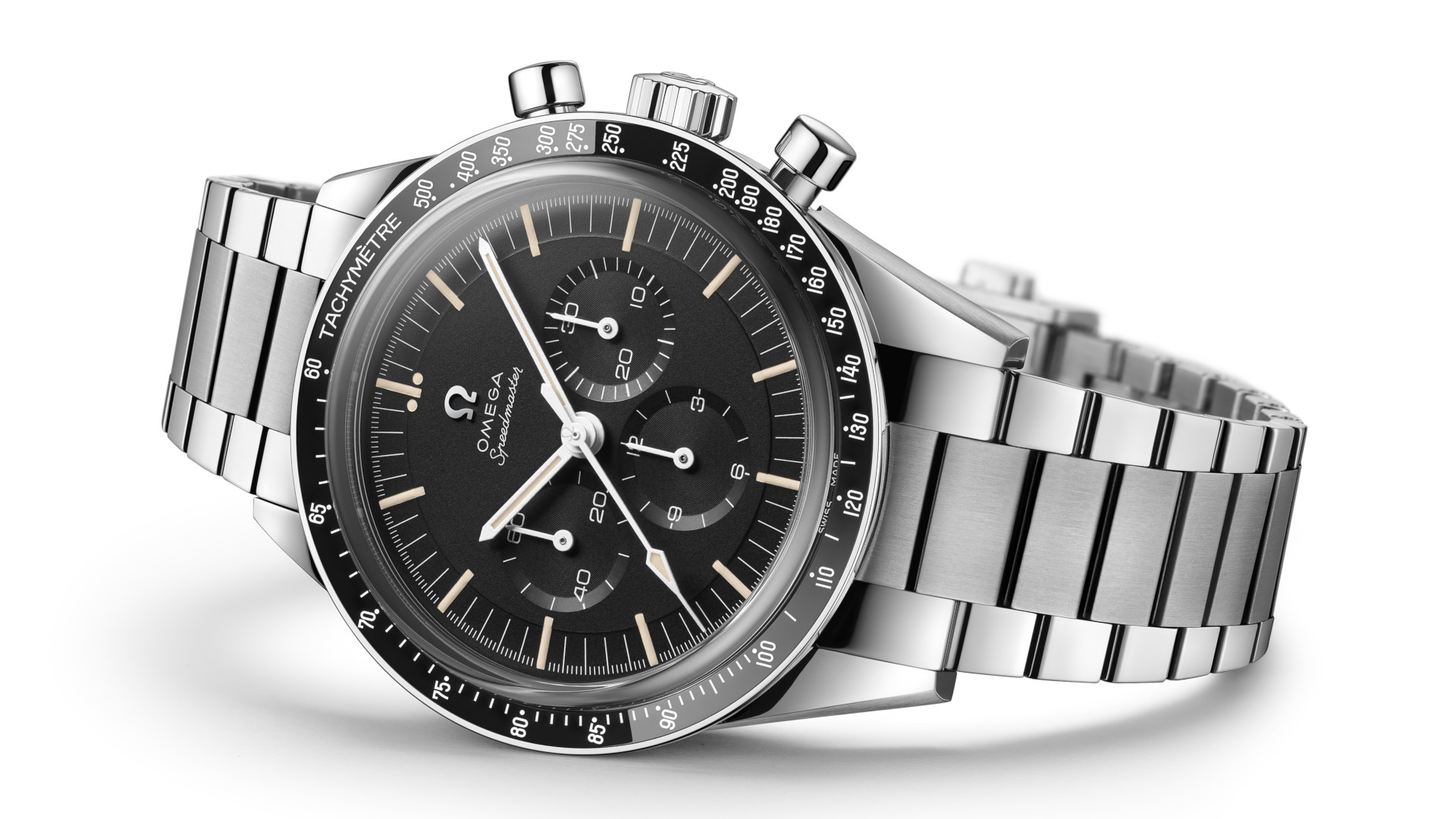 Have we found the perfect Omega Speedmaster with this Moonwatch 321 Stainless Steel?