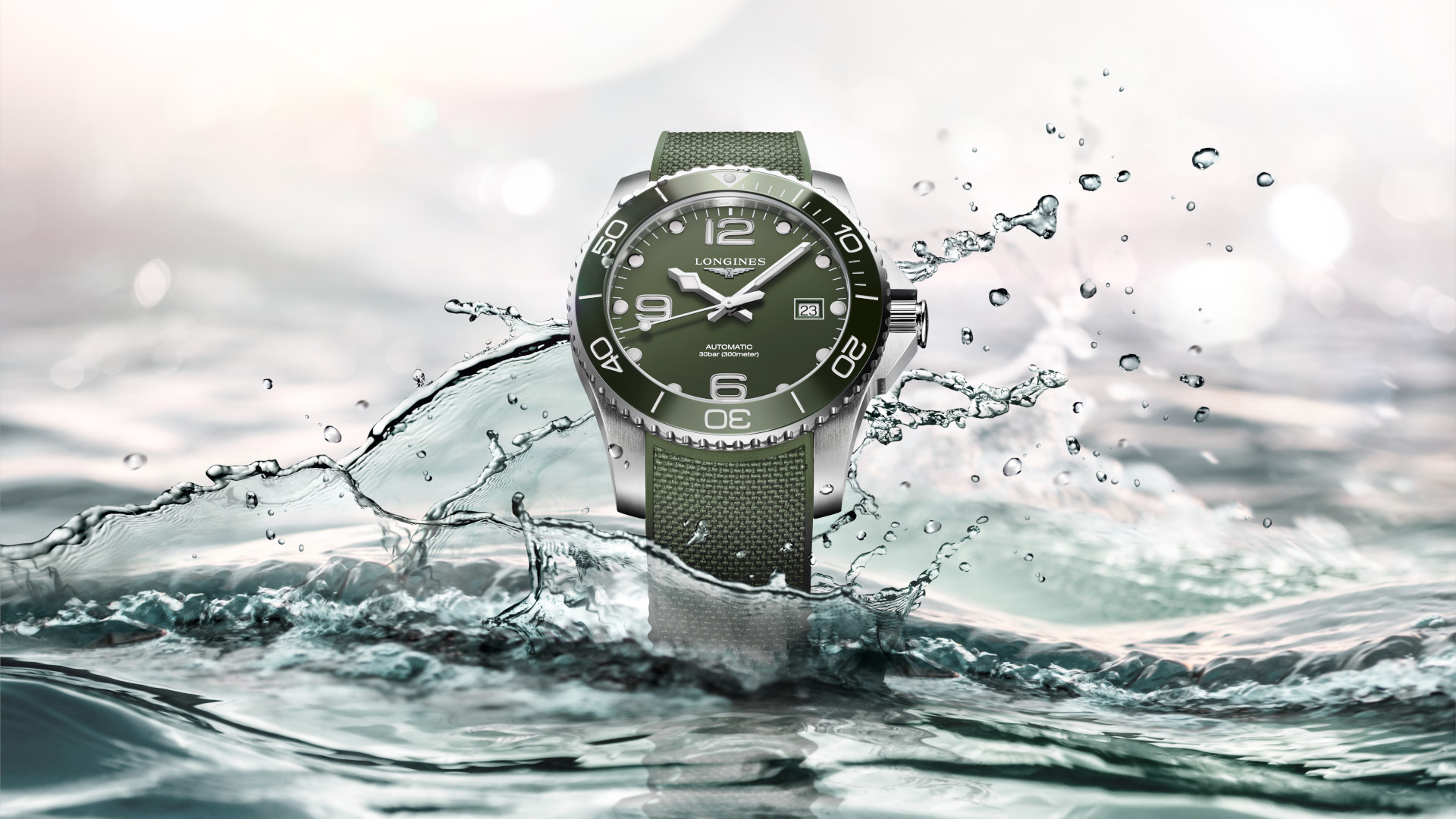 Longines goes green with their latest HydroConquest dive watch