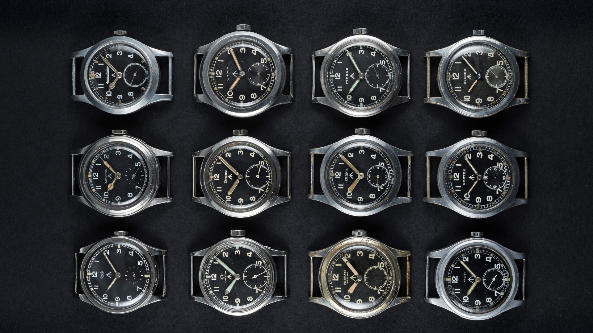 Everything you need to know about the 'Dirty Dozen' vintage watches