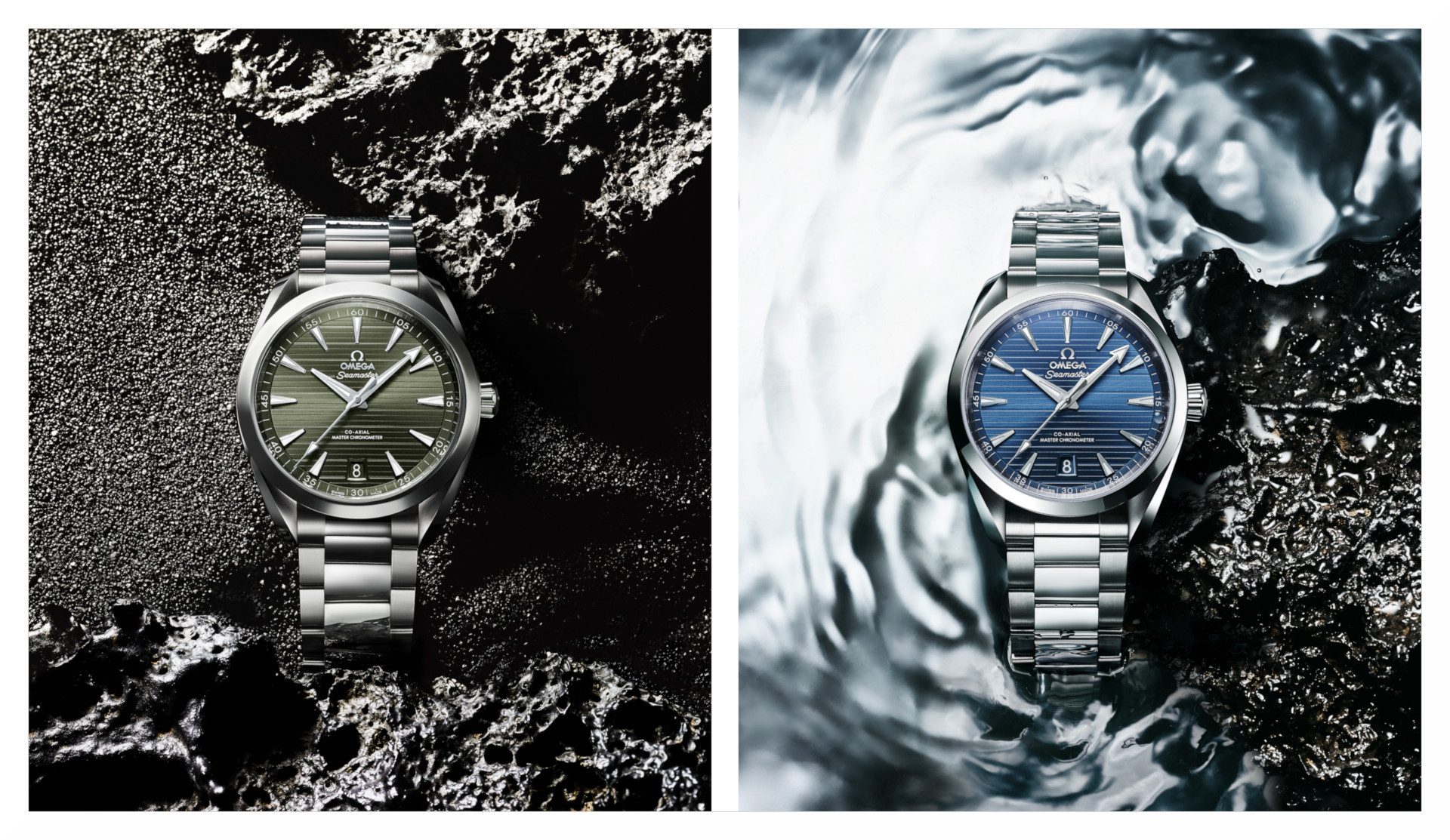 New colours available in 2020 for the Omega Seamaster Aqua Terra 150M