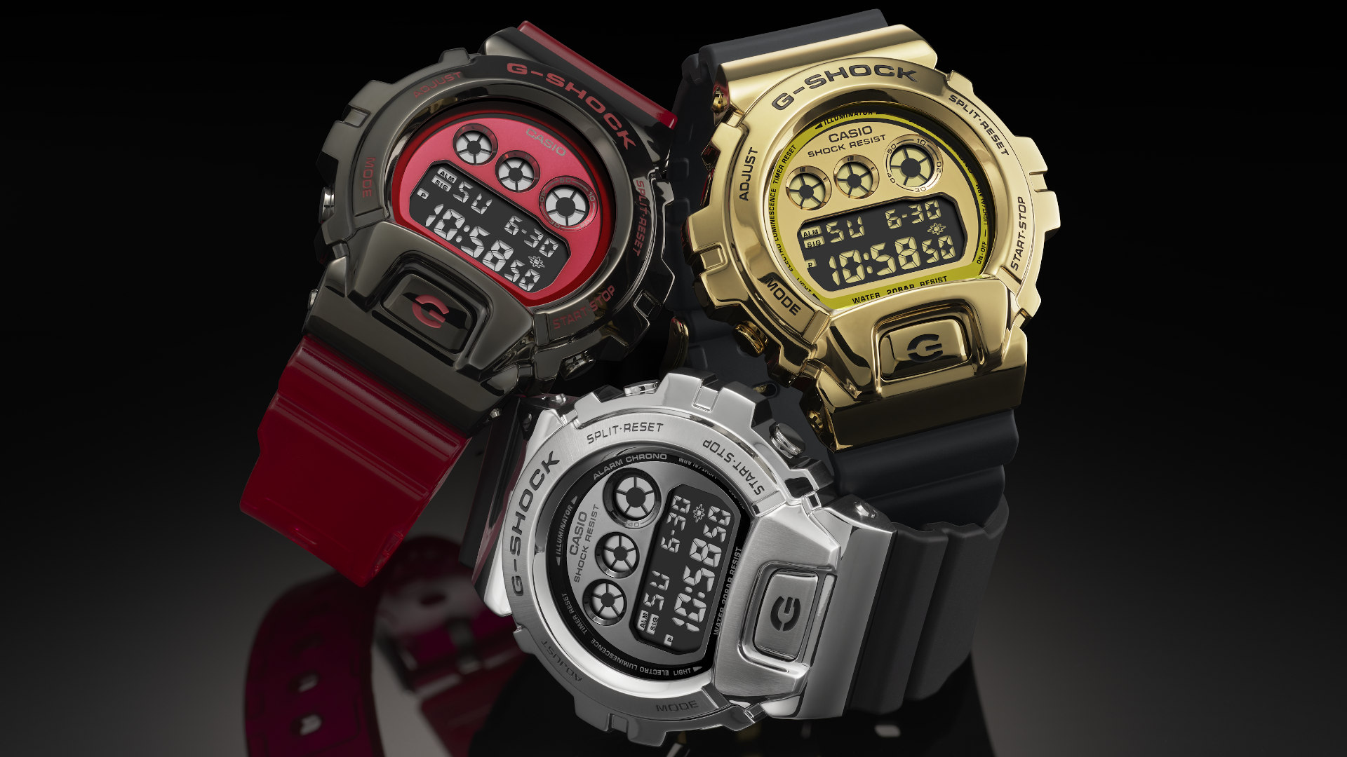Casio G-Shock DW-6900 celebrates its 25th anniversary with stainless steel bezels and special edition colours