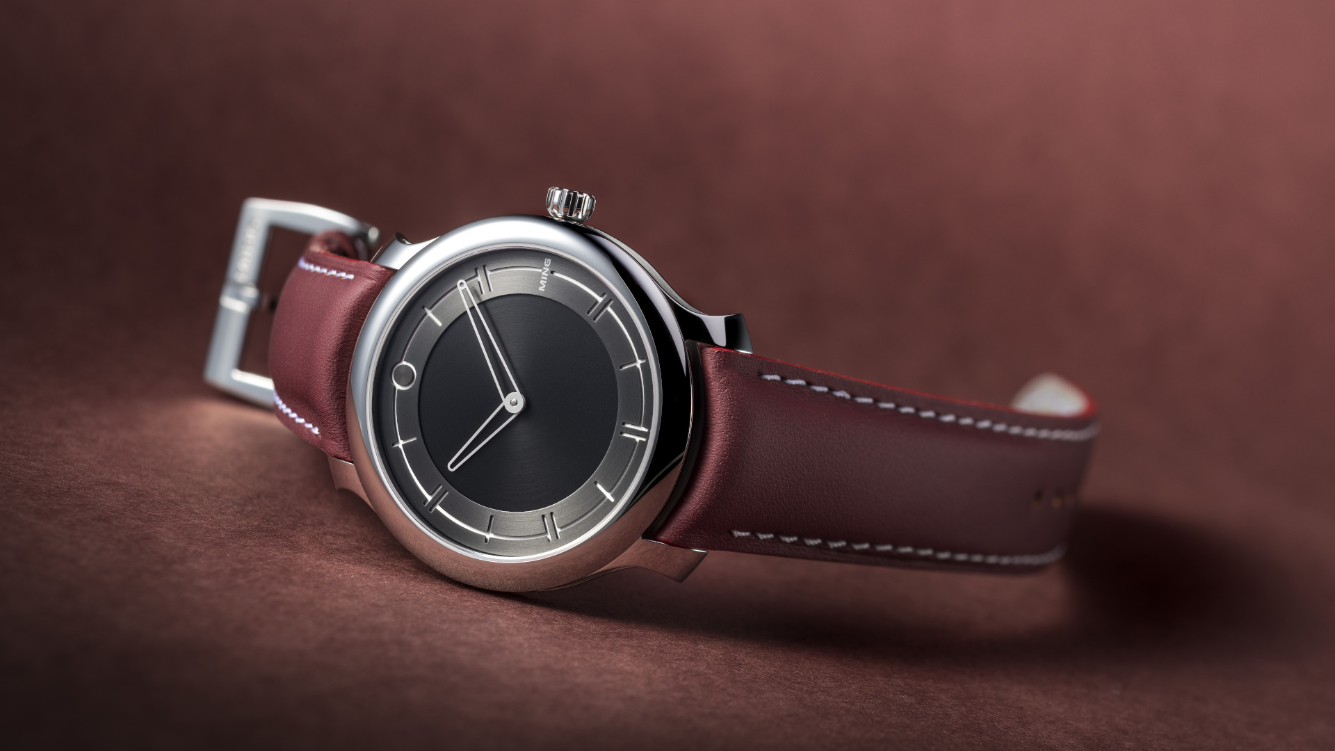 The MING 27.01 is a reimagination of their first watch, but without the limits of being affordable