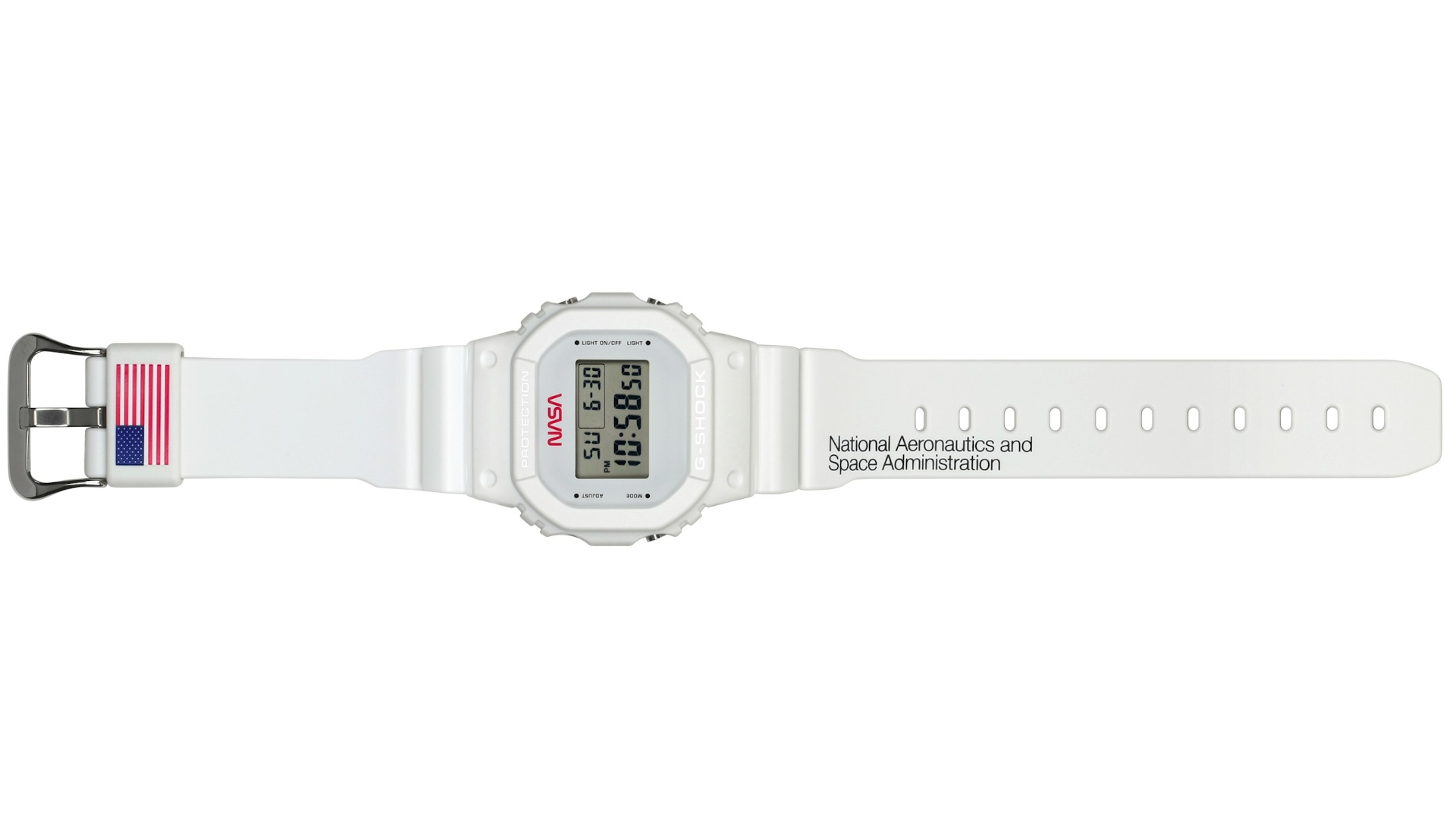 This Casio G-Shock DW5600 NASA special edition looks out of this world