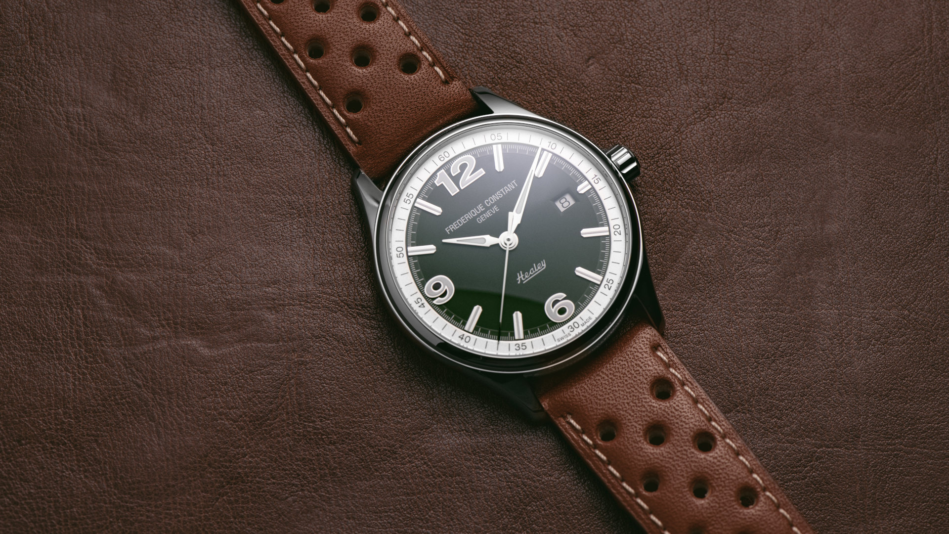 Frederique Constant Vintage Rally Healey Automatic – A fitting tribute to vintage British sportscars