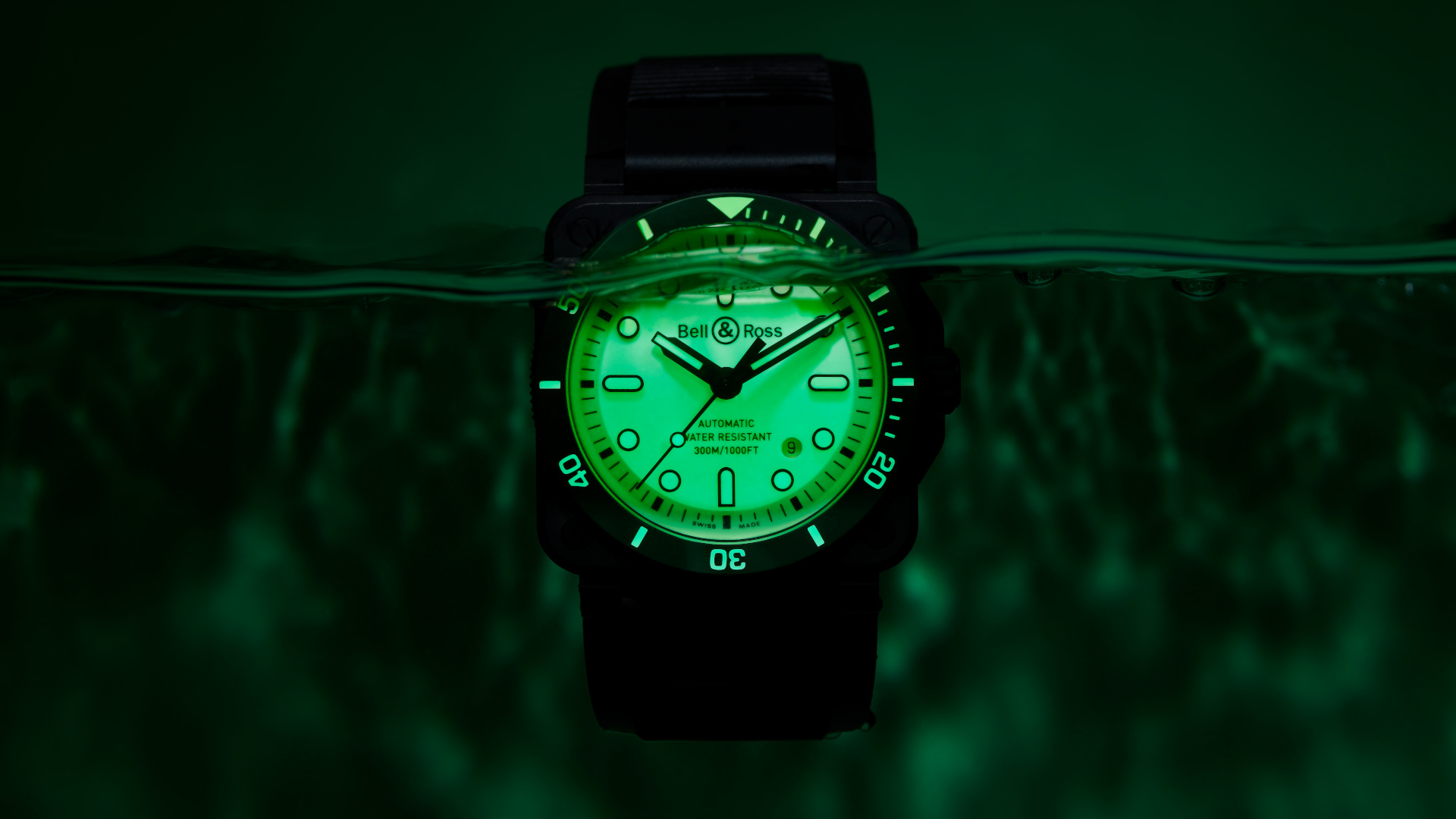 Illuminate the darkest seas with the new Bell & Ross BR 03-92 Diver Full Lum
