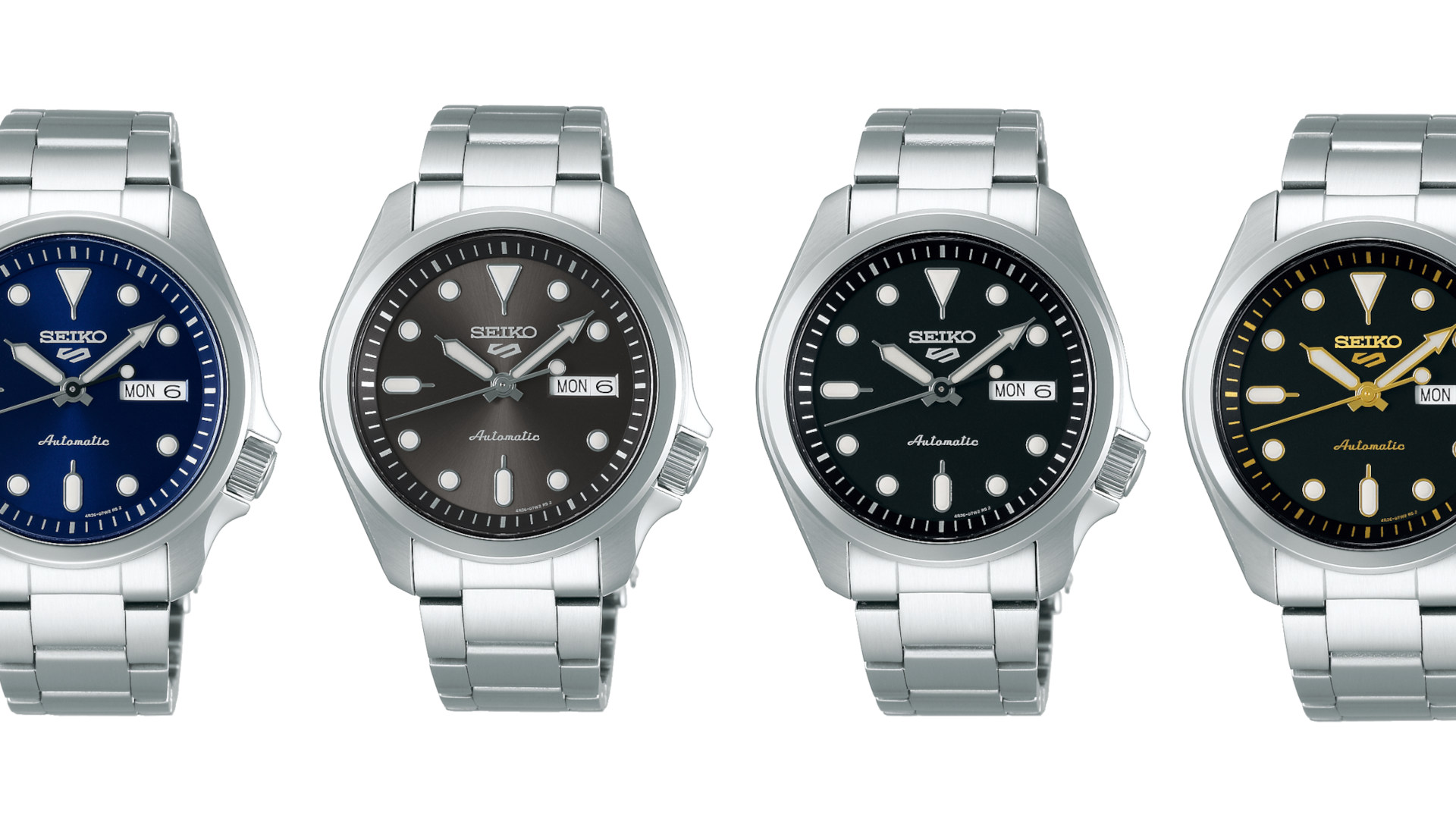 The new Seiko 5 Sports loses the bezel and downsize to a 40mm diameter