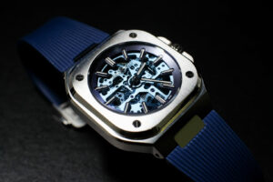 Bell & Ross BR 05 Skeleton Blue: When the steel sports watch takes on a more elegant form