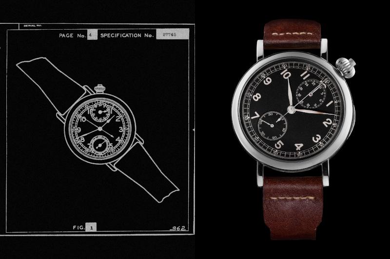 The original Longines Avigation A1-7 watch
