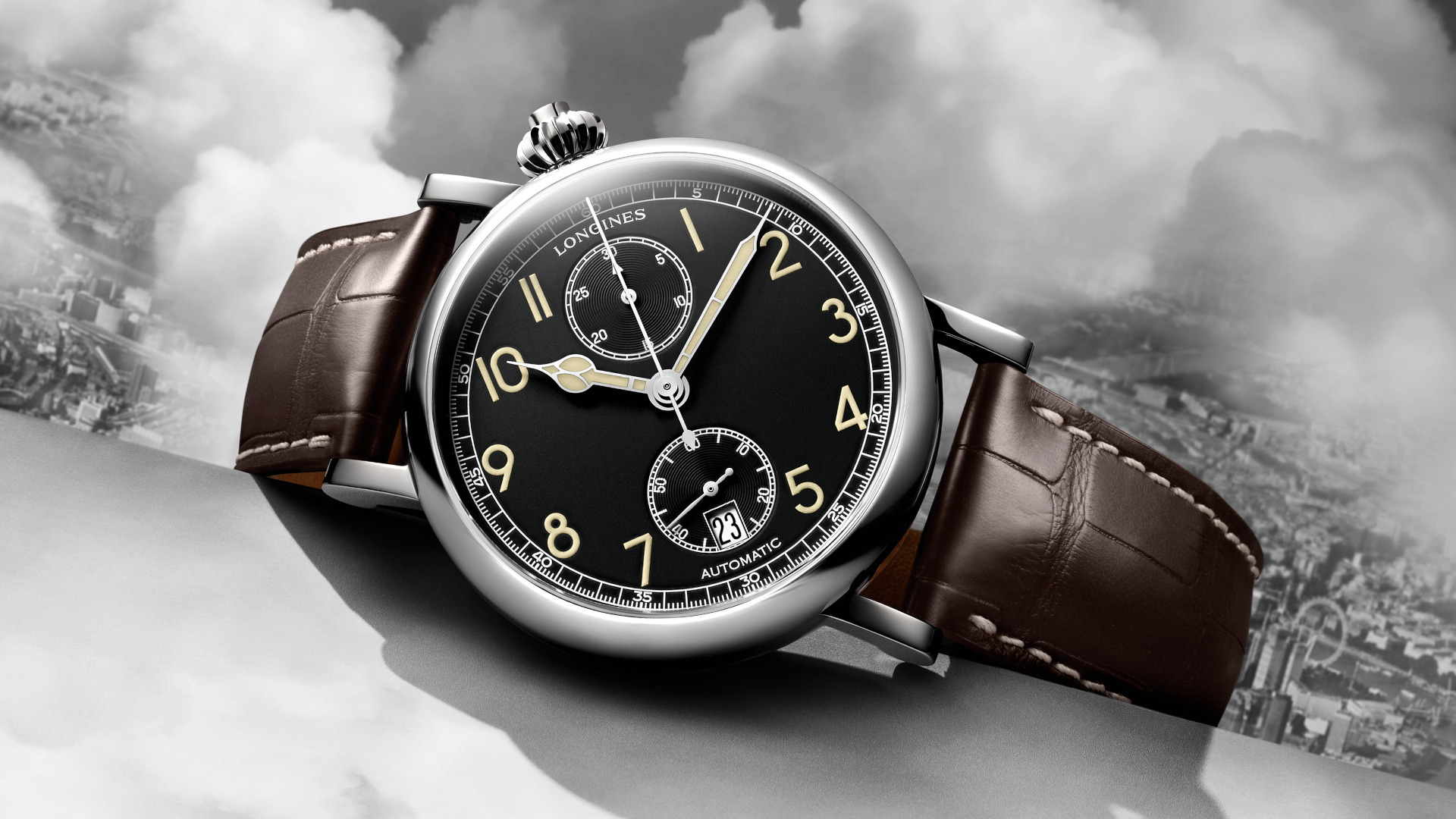 Flying back to the past with the Longines Avigation Watch A-7 1935