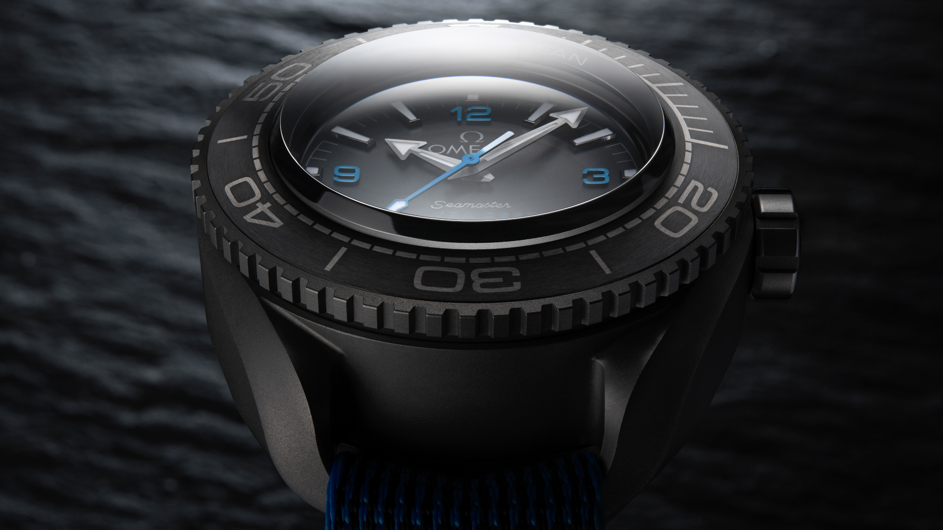 Omega goes from outer space to deepest depths with the Seamaster Planet Ocean Ultra Deep Professional