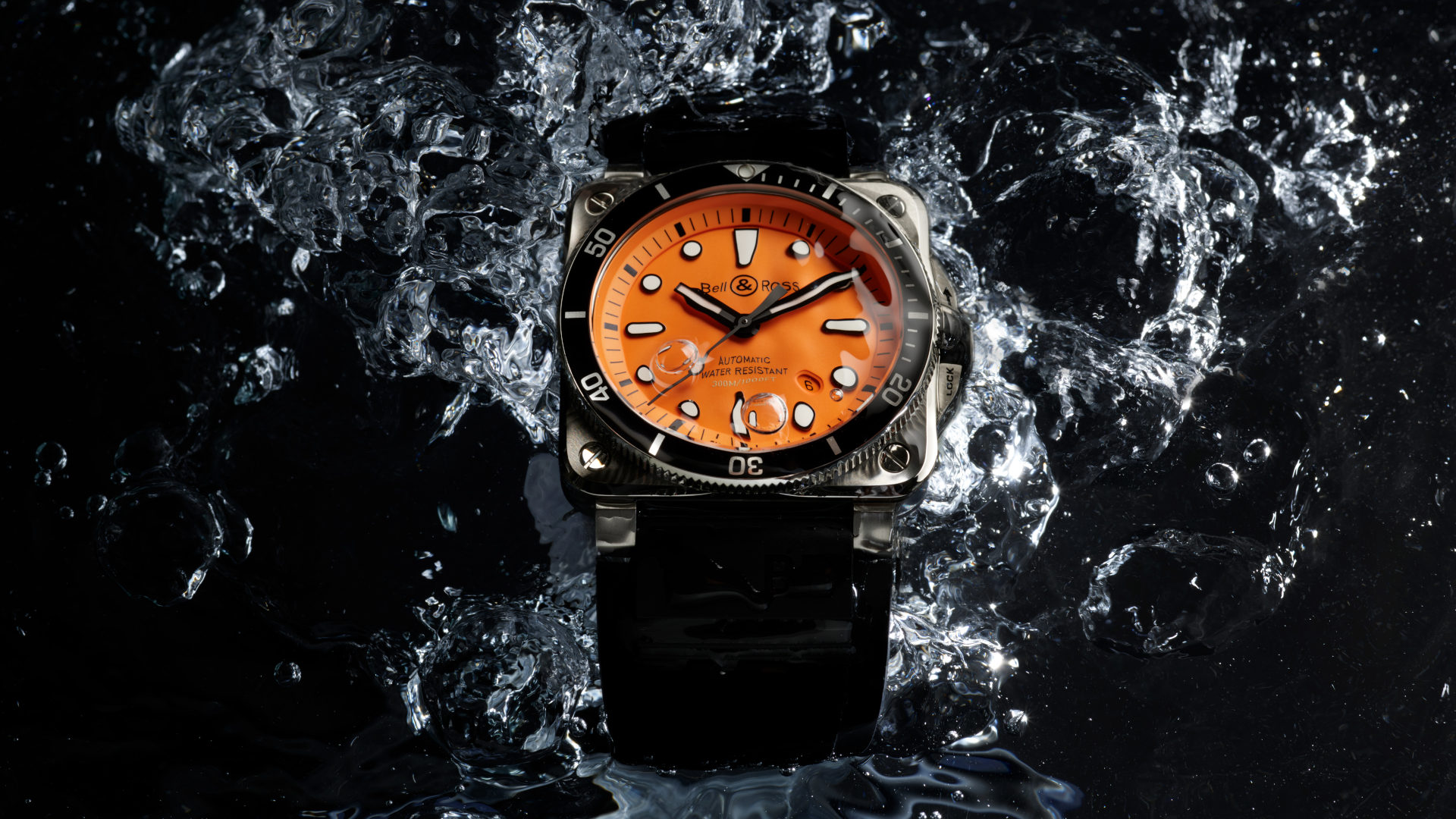 The latest Bell & Ross BR 03-92 Diver is available in an orange dial limited edition