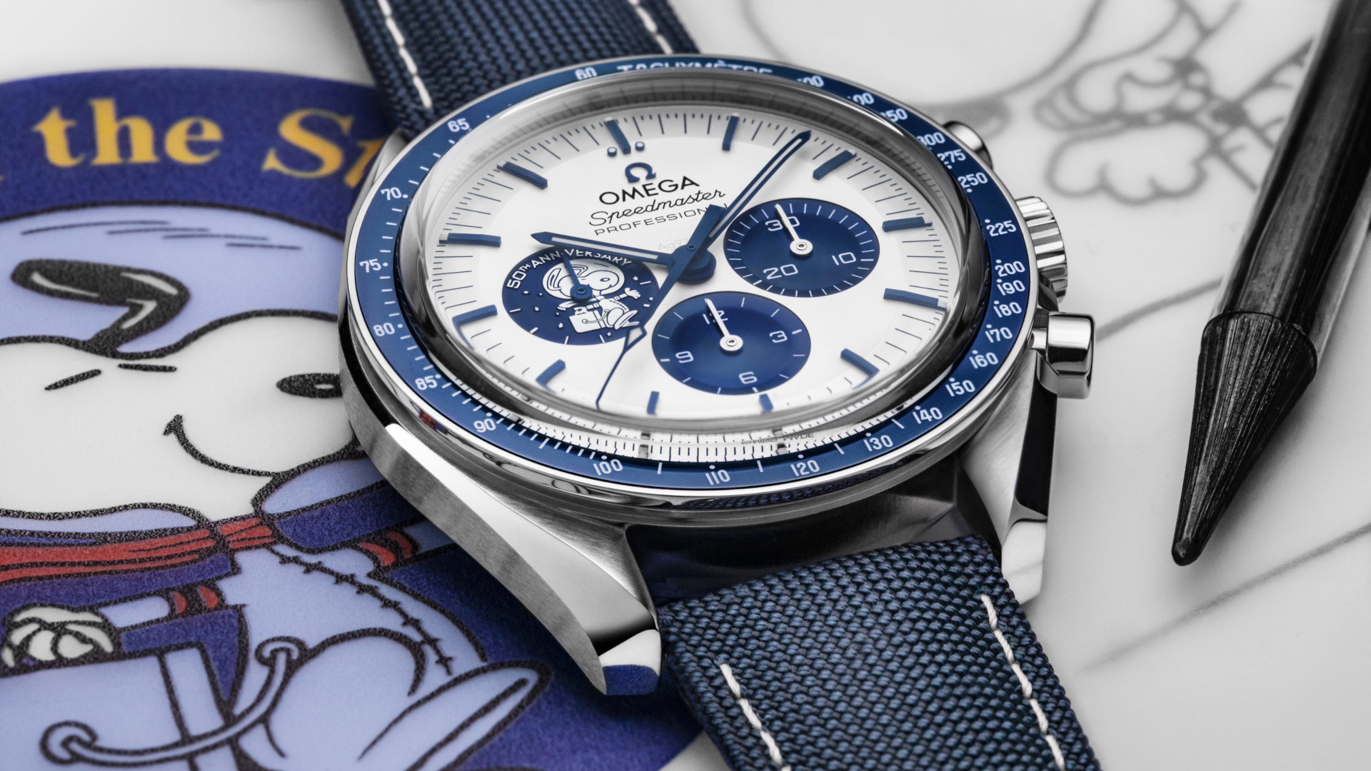 Omega Celebrates 50 Years Since Their Silver Snoopy Award With A Fantastic Speedmaster Tribute