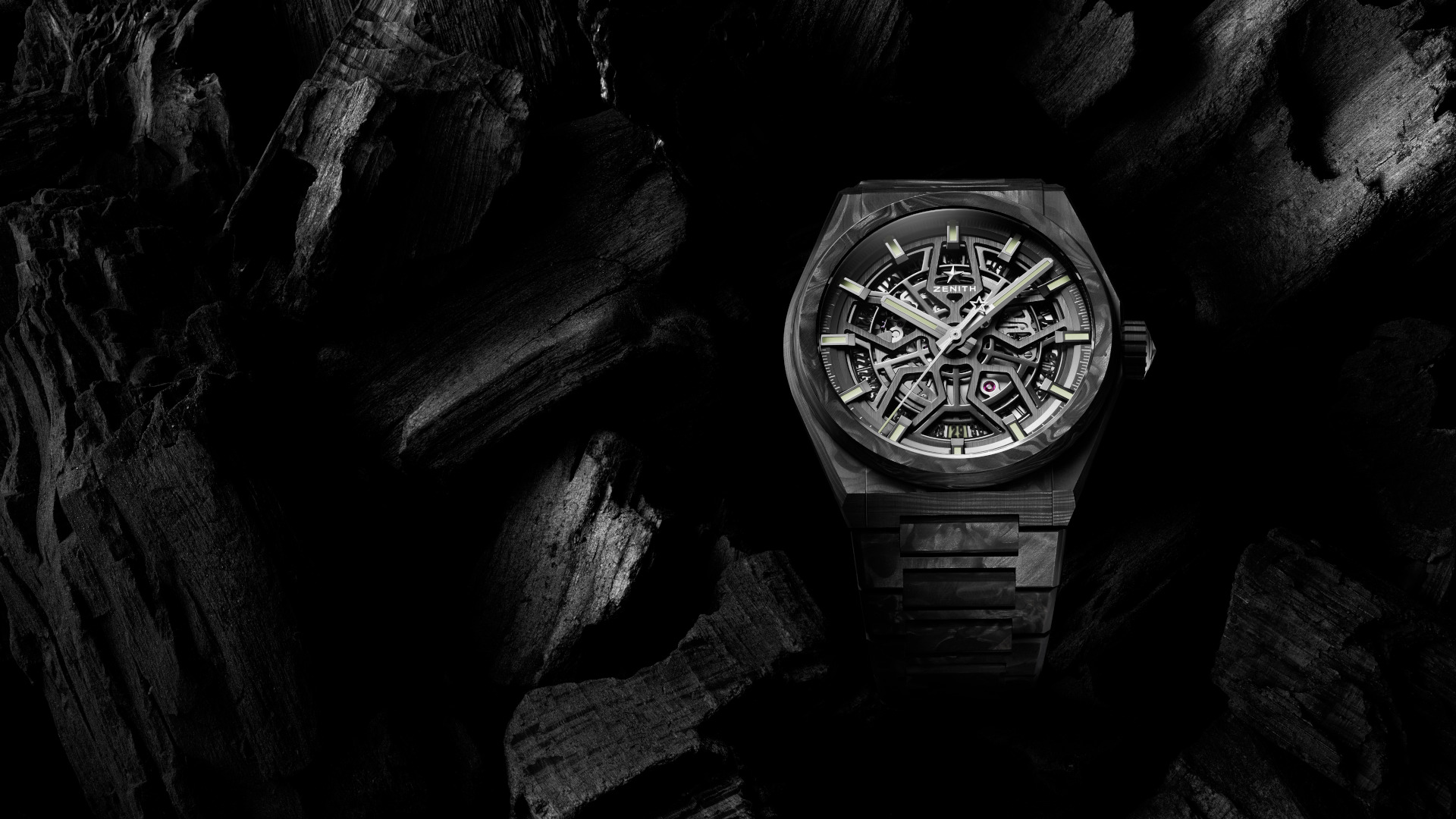 The Zenith Defy Classic Carbon Comes With A New And Very Expensive Carbon Bracelet