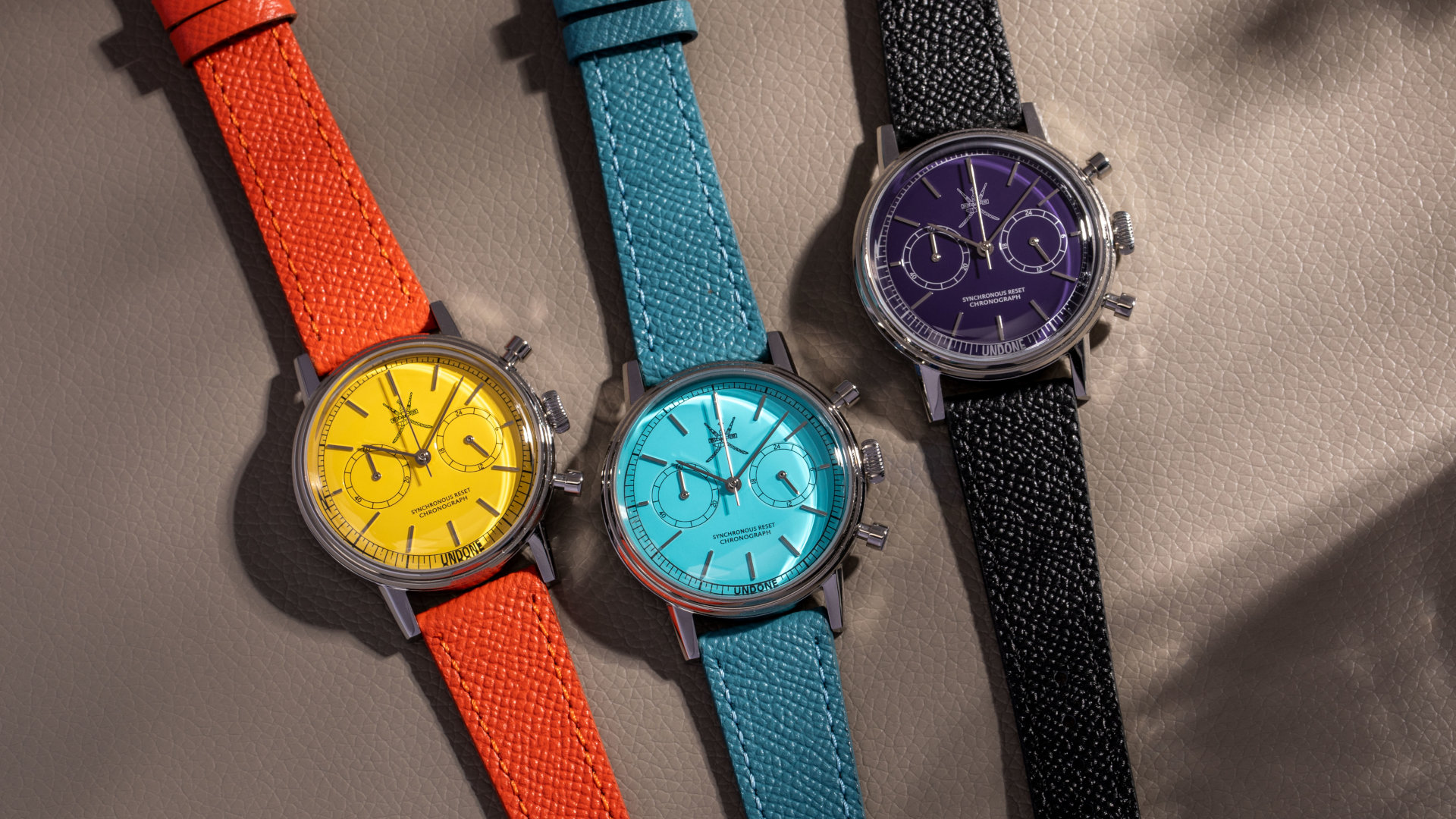 Undone Stellar Collection Offers Serious Vintage Watch Street Cred But Without The Six-Figure Price Tag