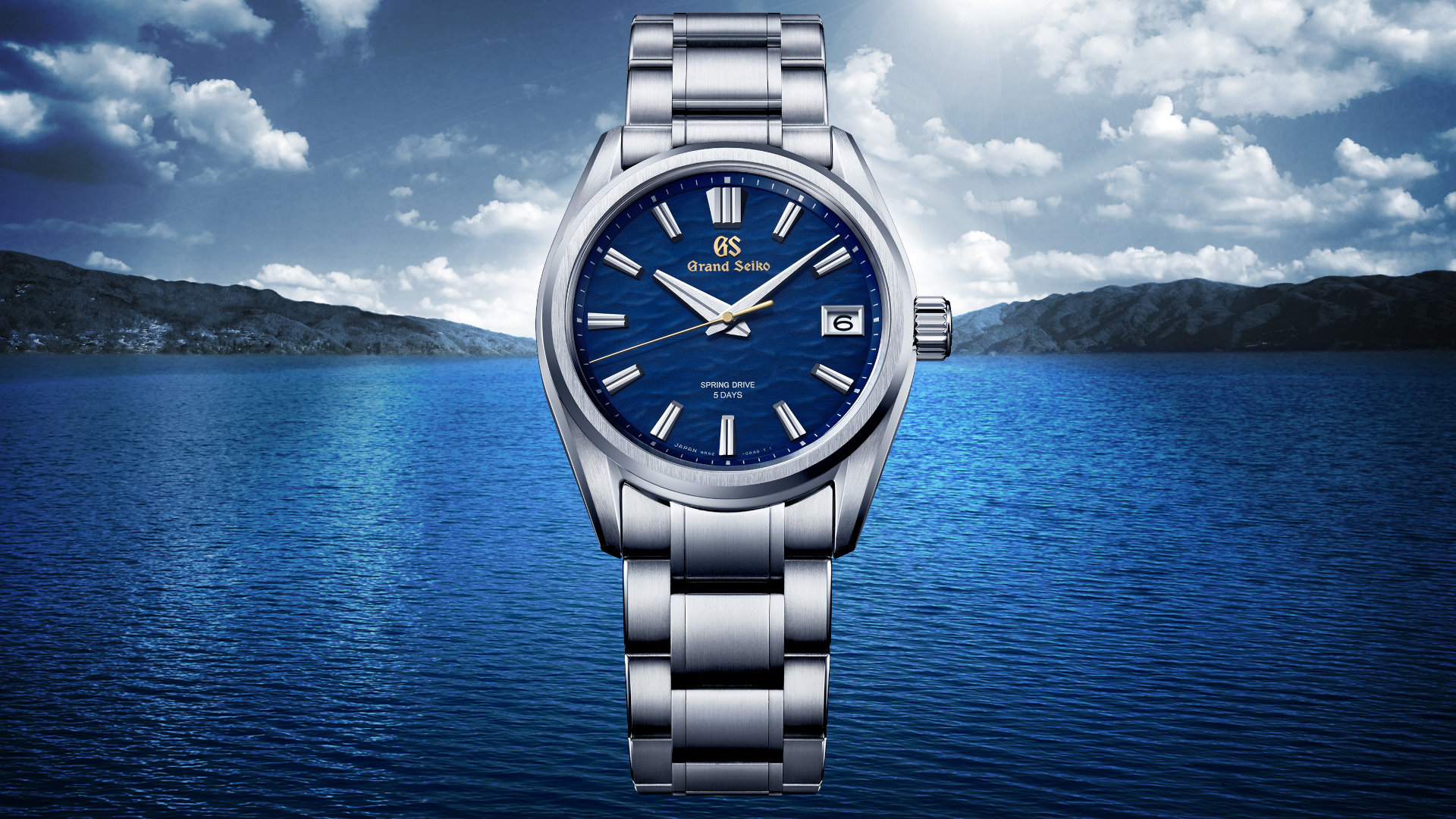 Grand Seiko's SLGA007 Offers A Dial Inspired By The Shimmering Light On A Calm Lake Surface