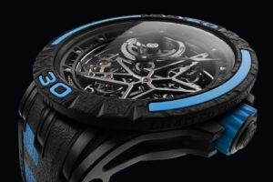 Click, Lock and Go, Roger Dubuis' latest Excalibur Skeleton Pirelli offers a bevvy of interchangeable components